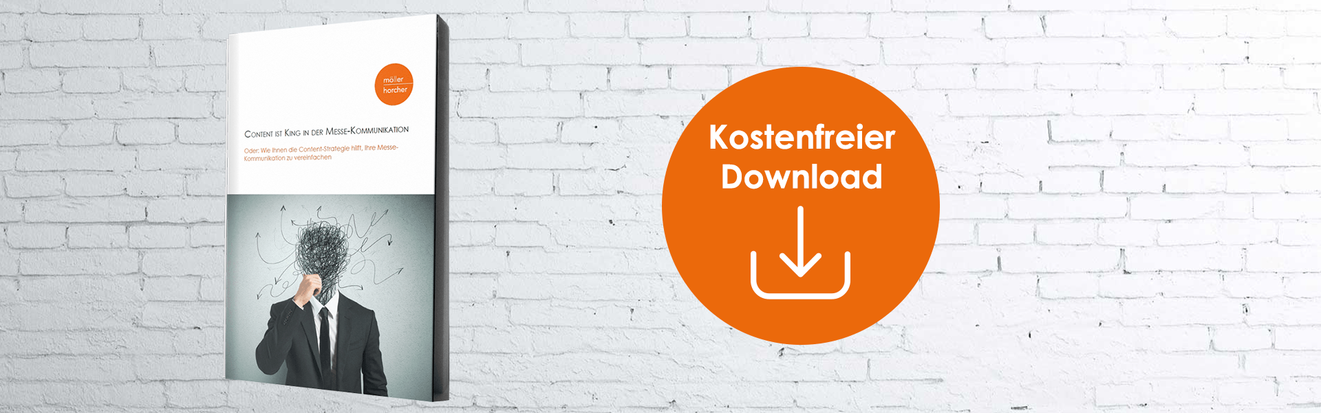 Möller Horcher E-Book: Content ist King in der Messekommunikation