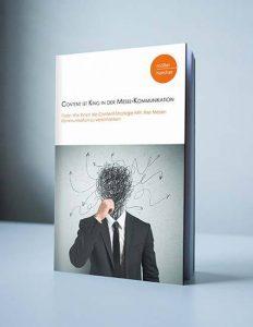 Das Cover zum E-Book: E-Book-Cover: Content ist King in der Messe-Kommunikation von Möller-Horcher