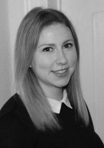 """Laura Gosemann, Autorin des Möller-Horcher-Blogbeitrags """"Urheberrecht in sozialen Medien – Was müssen Unternehmen beachten?"""""""