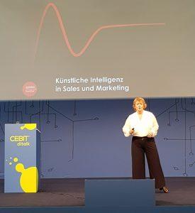 Gabriele Horcher Vortrag Cebit 2018