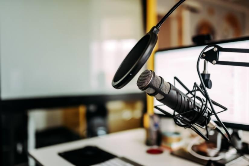 Technik für den Unternehmens-Podcast